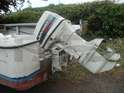 Link to picture 1 for 17 ft birchwood fishing boat for sale