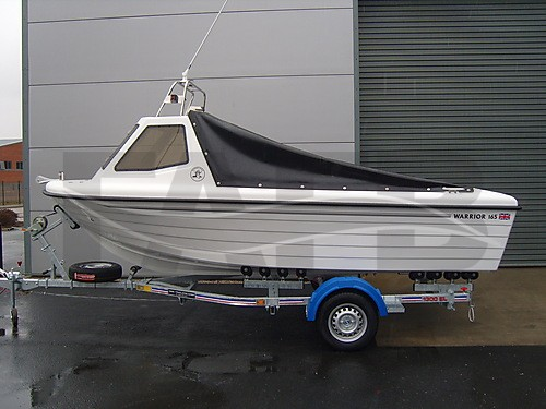 Link to picture 1 for Warrior 165 fishing boat for sale