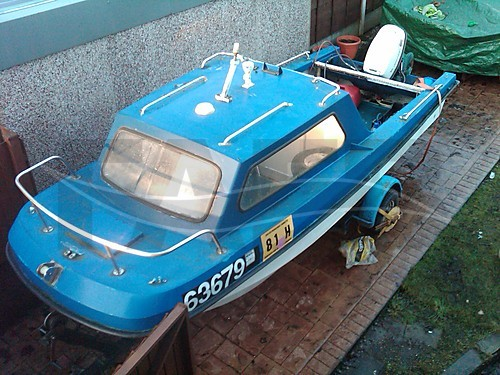 Link to picture 1 for Cathedral Hull boat for sale