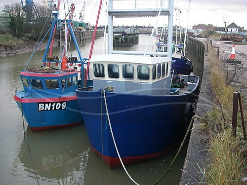 Link to picture 1 for Steel Hull fishing boat for sale