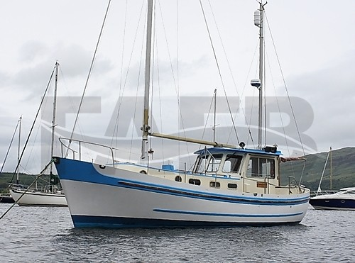Link to picture 1 for Banjer 37 GRP Motor-sailer ketch boat for sale