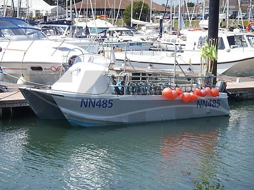 Aluminum catamaran fishing boats for Catamaran fishing boats for sale