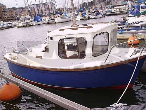 Link to picture 1 for hardy fisherman fishing boat for sale