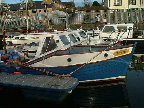 Link to picture 1 for Mitchell 23 GRP fishing boat for sale