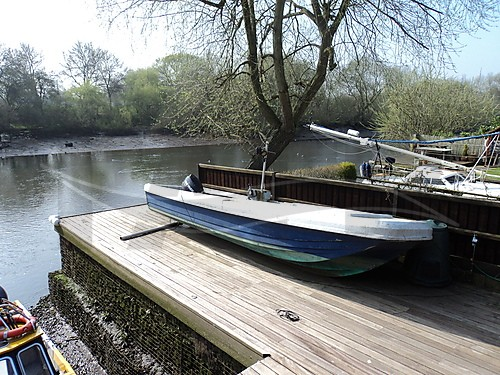 Link to picture 1 for wilson flyer fishing boat for sale