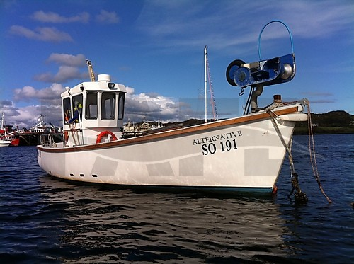 Link to picture 1 for Plymouth Pilot 24 fishing boat for sale