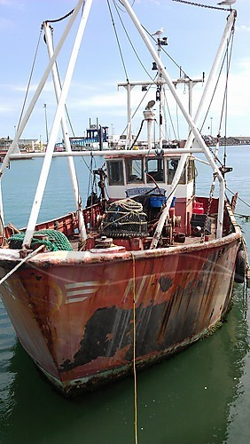 Link to picture 1 for Steel ex Trawler fishing boat for sale