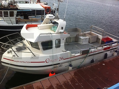Link to picture 1 for Cleopatra 26 fishing boat for sale