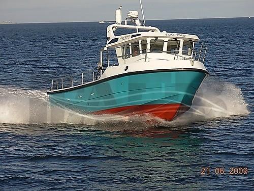 Seahawk workboats k31 fastcatch plymouth fafb for Seahawk fishing boat
