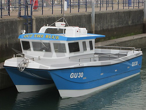 Link to picture 1 for 7,8,10 & 11m Cougar Cat  fishing boat for sale