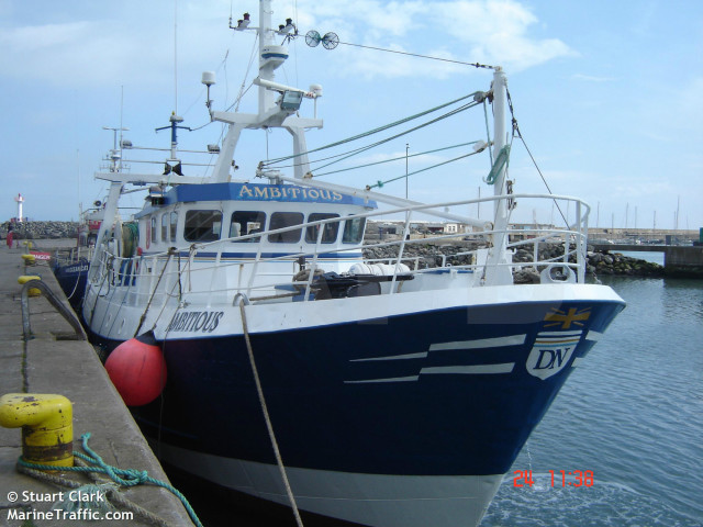 Steel twin quad rig trawler howth fafb for Commercial fishing boats for sale by owner