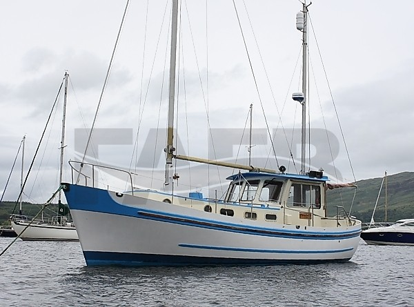 Picture of Banjer 37 GRP Motor-sailer ketch boat for sale