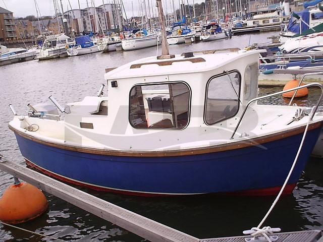 Picture of hardy fisherman fishing boat for sale