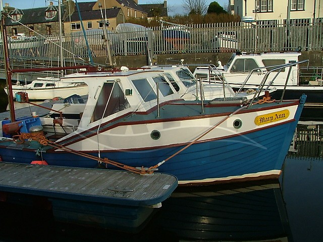 Picture of Mitchell 23 GRP fishing boat for sale
