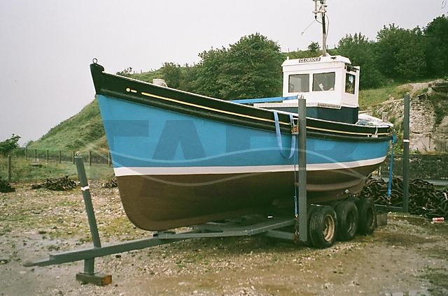 Picture of Carvel Built Wood fishing boat for sale