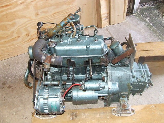 Photo viewer: thornycroft 23hp 3 cylinder diesel - picture 1
