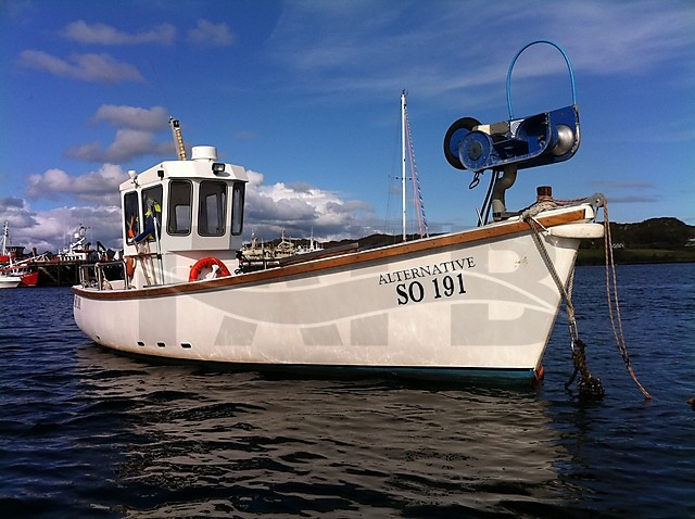 Picture of Plymouth Pilot 24 fishing boat for sale