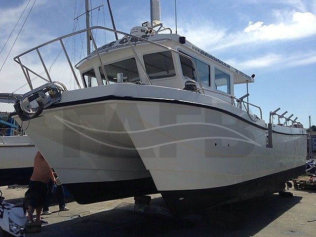 Picture of cougar cat 10m mk2 10m boat for sale