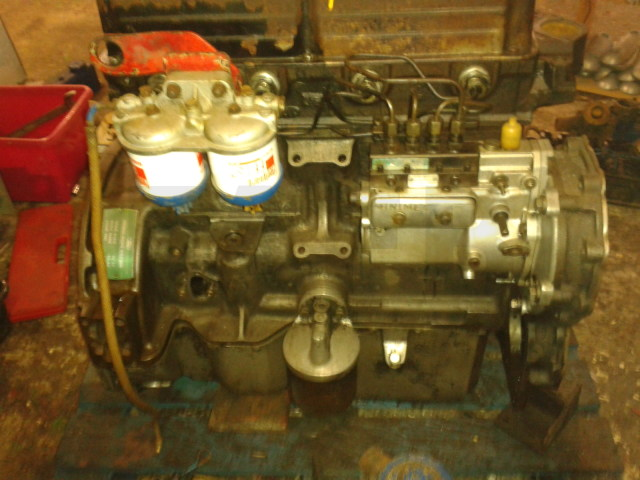 2 Ford 4d Engines To Make A Marine Unit  Isle Of Skye
