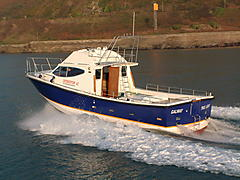 TRUE LIGHT, INTERCEPTOR 42 GRP boat for sale