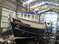 ARRAN LIGHT, TIMBER,TRAWLER boat for sale