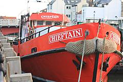 CHIEFTAIN, STEEL  EX-ROYAL NAVAL VES boat for sale