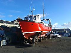 GOLDEN SHORE, GRP POTTER /TRAWLER boat for sale