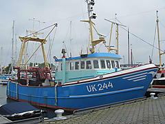 UK 244 JURIE SJOERD, TRAWLER / GILLNETS  boat for sale