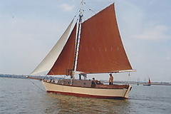 ANJAK, GAFF CUTTER CHESAPEAKE... boat for sale