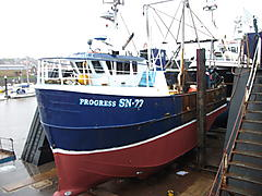 PROGRESS, HARRIS GARROD TRAWLER/... boat for sale
