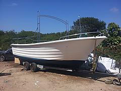 ATLANTIC FISHER, 23FT    boat for sale