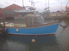 RAINBOW, CORNISH FISHING BOAT boat for sale
