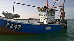 MISTY DAWN, WOOD/FIBERGLASS FISHINGBO boat for sale