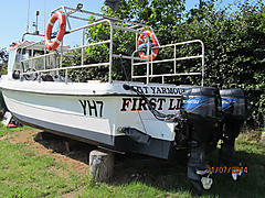 FIRST LIGHT, WILSON FLYER 24 boat for sale