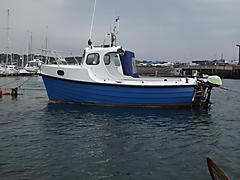 CONSTANCE, F/GLASS CLINKER boat for sale