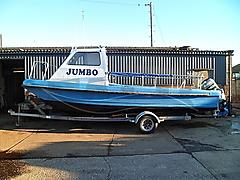 JUMBO, WILSON FLYER boat for sale
