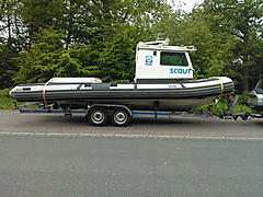 SCOUT, CABIN RIB boat for sale