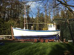 WILLIAM ALEXANDER, WOODEN JOHN KEARNEY BUILT boat for sale