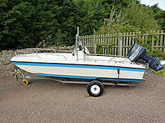 BOY KOBEN FH34, PLANCRAFT SPRINTER DORY boat for sale