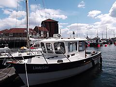 LINDYLOU, HARDY FAST FISHER 24  boat for sale