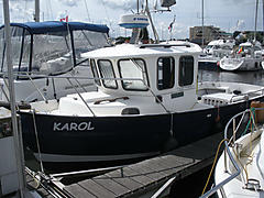 KAROL BR75, HARDY 24FT boat for sale