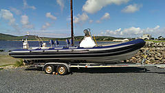 UNNAMED, 7.5 METER RIB  boat for sale