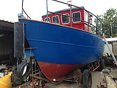 CORAL REEF, STEEL WORK BOAT boat for sale