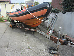 PHOENIX, RIBCRAFT 5.85 boat for sale