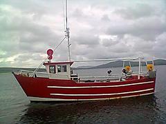 DEIRDRE, STEEL TRAWLER BUILT  boat for sale