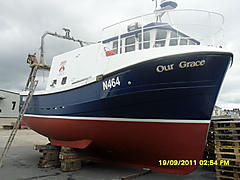 OUR GRACE N464, CYNUS GM 33 boat for sale