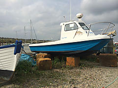 KINGFISHER, WILSON 23 boat for sale