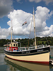 LINDY LOU, LOOE PILCHARD DRIVER boat for sale