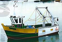 FRENCH WOODEN BOAT, WOODEN TRAWLER FRANCE boat for sale