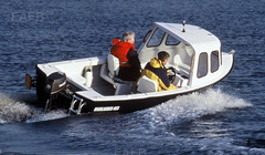 HIGHLANDER 465 FITTED WITH TOHATSU 30 HP OUTBOARD MOTOR , TRAILER AS NEW